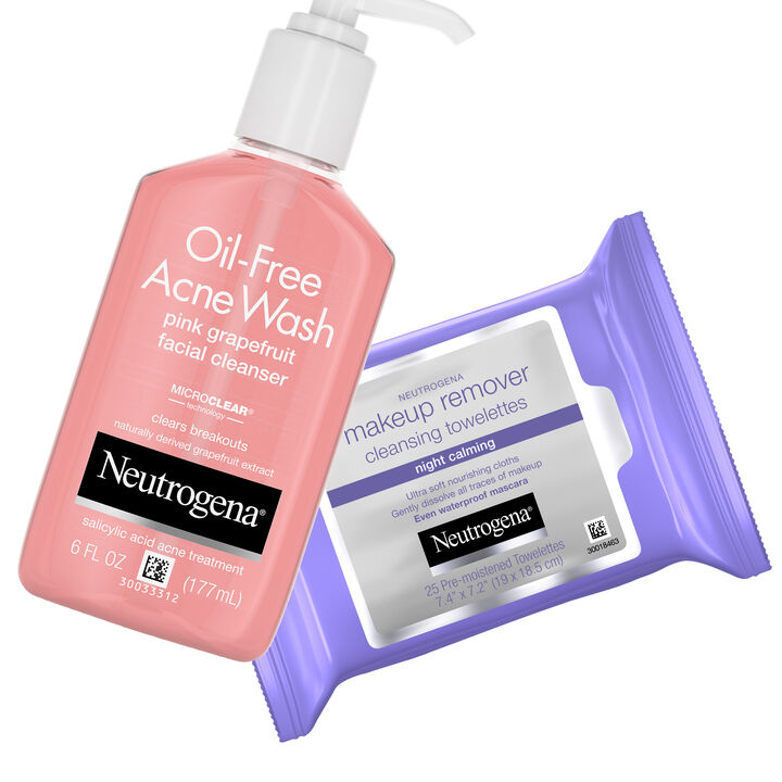 Acne Prone Double Cleansing Set