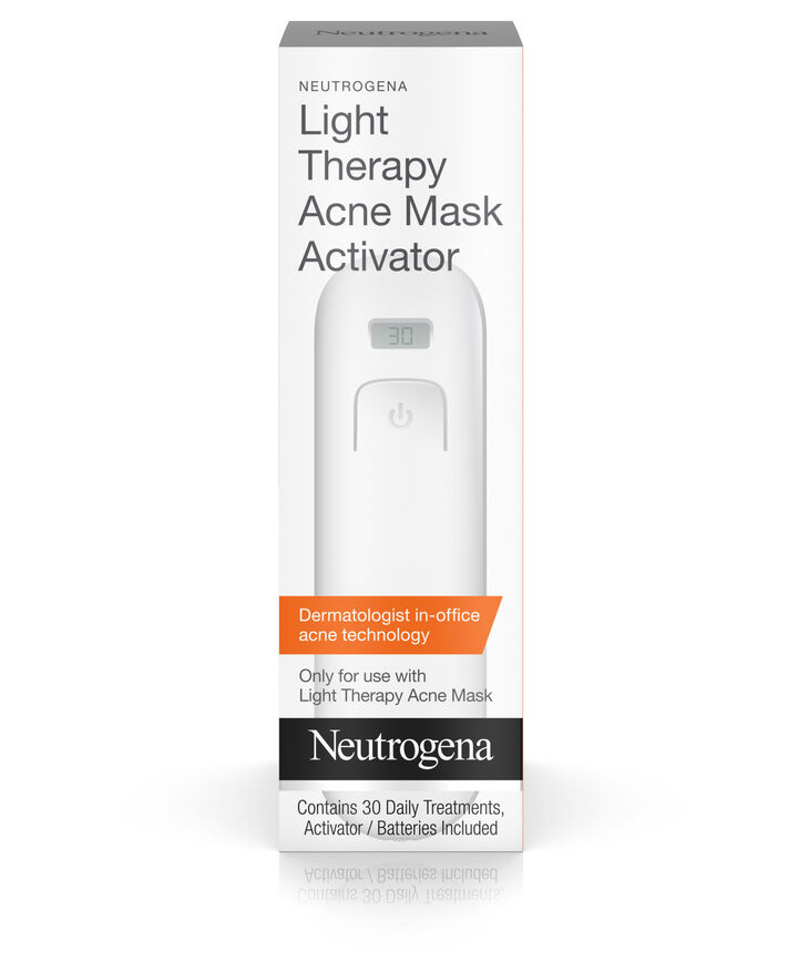 Light Therapy For Acne At Home: Light Therapy Acne Mask Activator