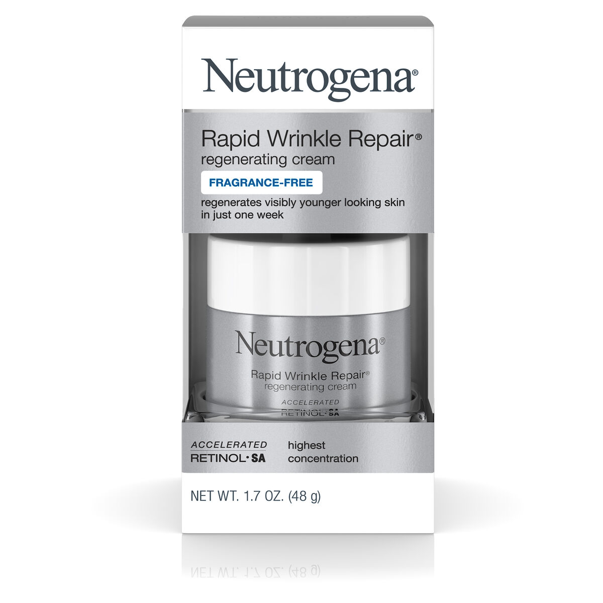 Rapid Wrinkle Repair Regenerating Retinol Cream | Neutrogena®