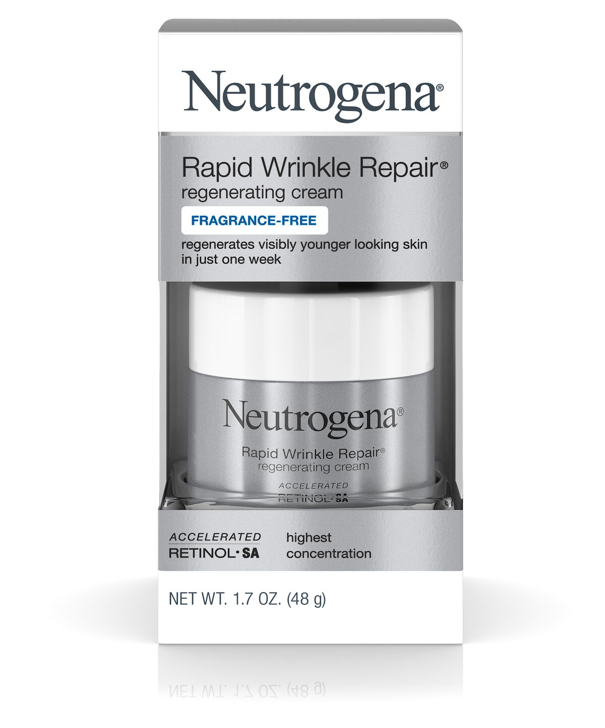 Rapid Wrinkle Repair Regenerating Retinol Cream | Neutrogena®