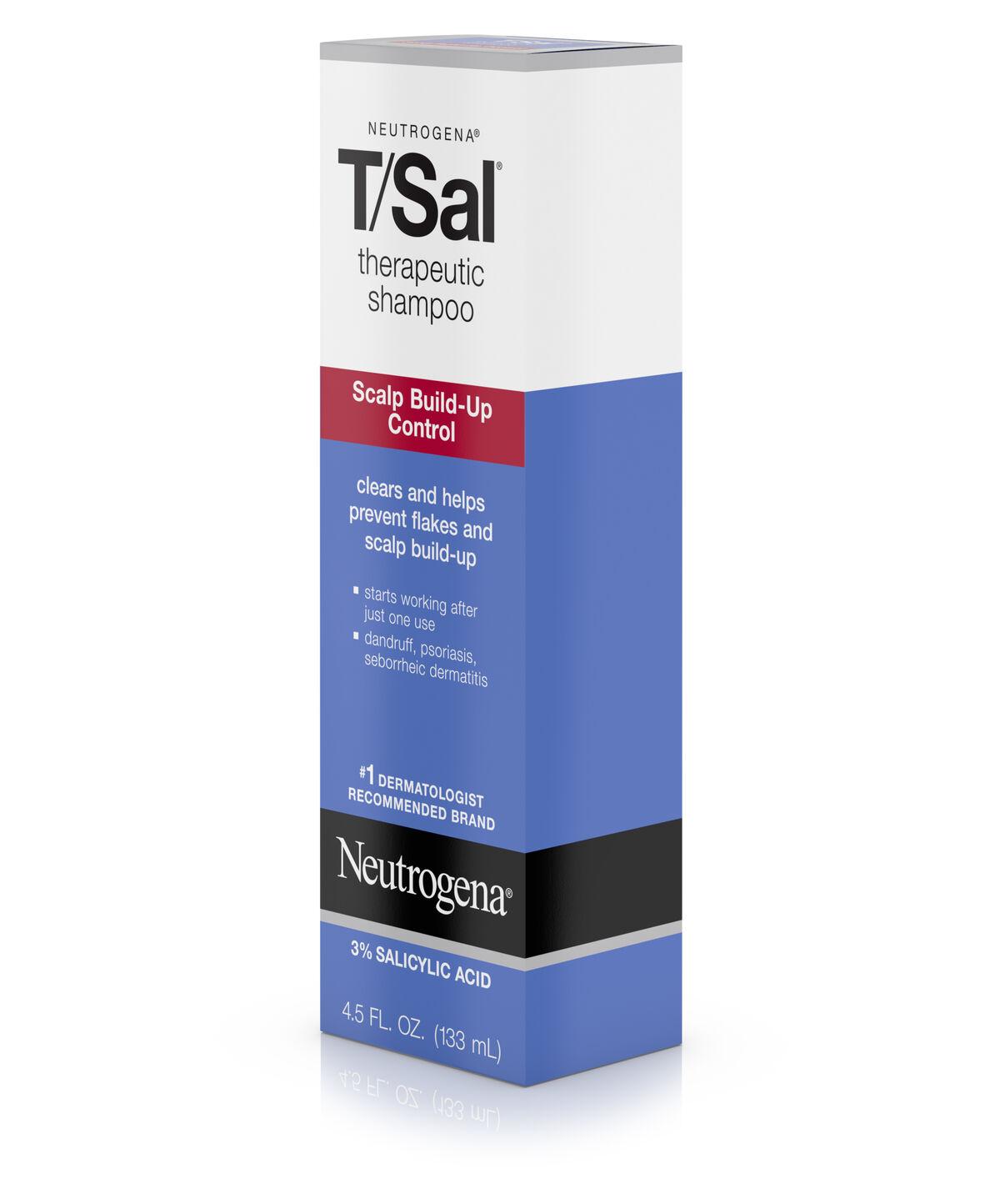 Tsal Therapeutic Shampoo Scalp Build Up Control Neutrogena