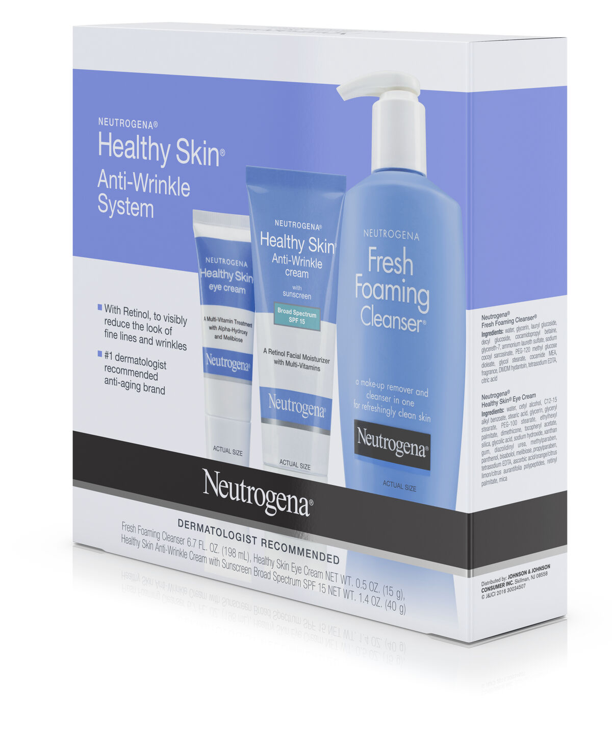 Healthy Skin Anti Wrinkle Skin Care System Neutrogena 174