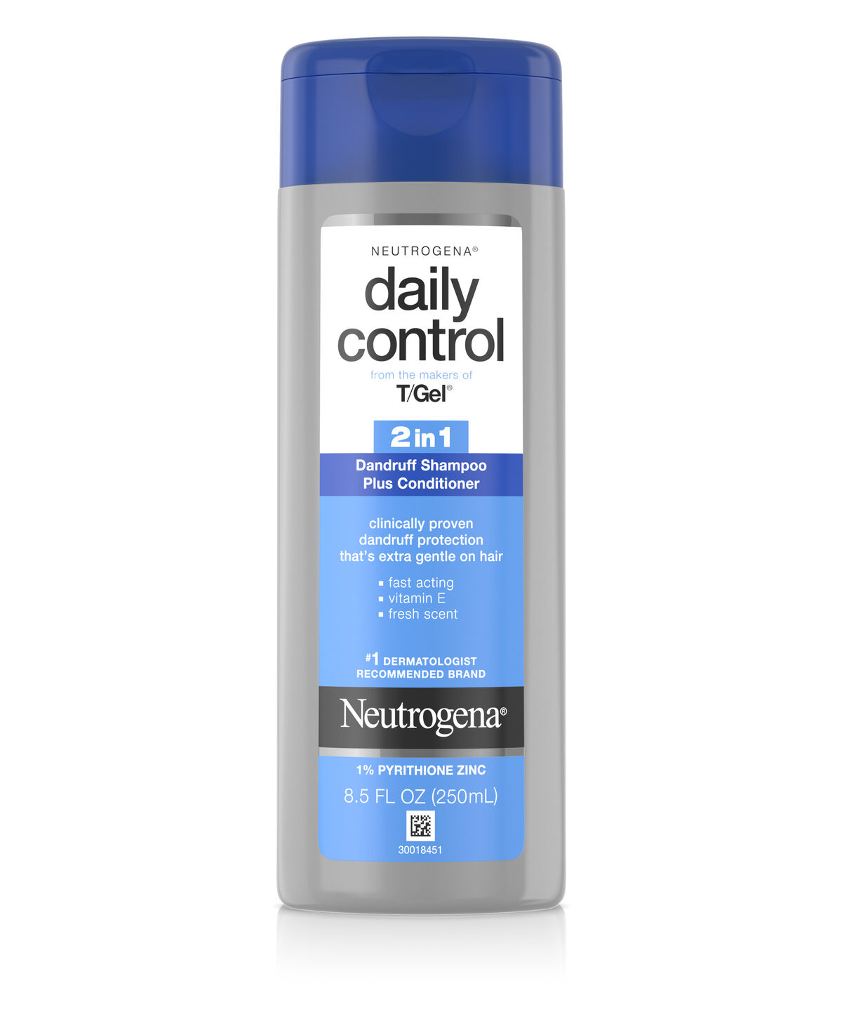 T Gel Daily Control Reg 2 In 1 Dandruff Shampoo Plus Conditioner