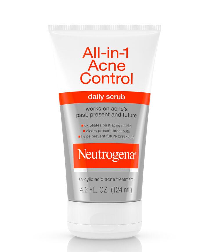 All In 1 Acne Control Daily Face Scrub Neutrogena 174