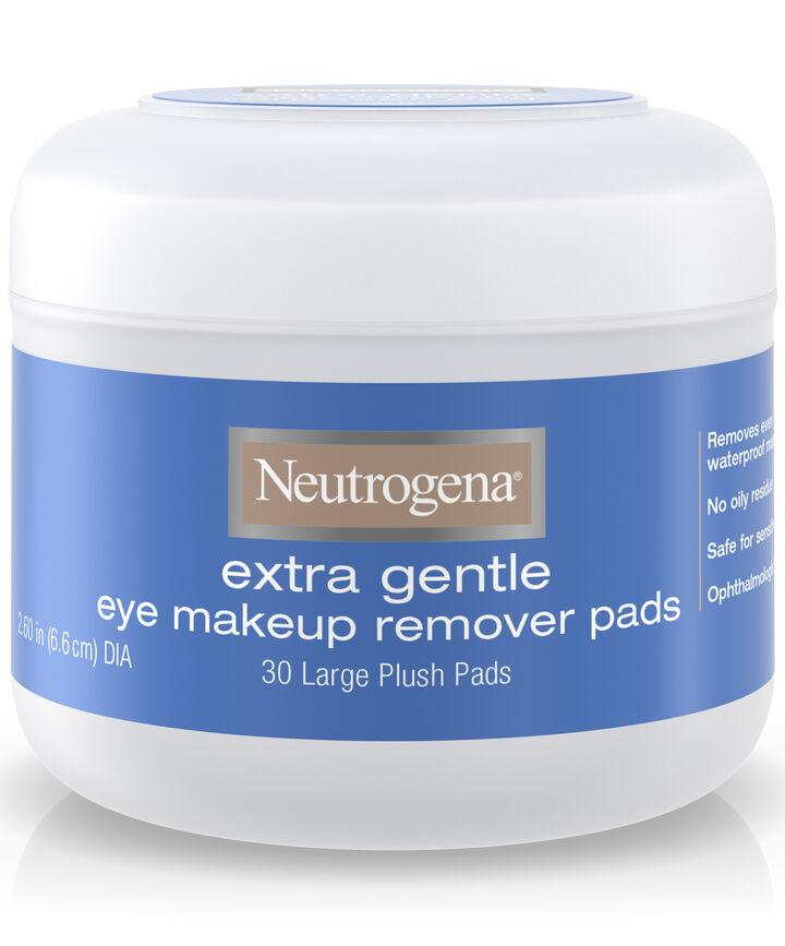 Extra Gentle Eye Makeup Remover Pads Neutrogena