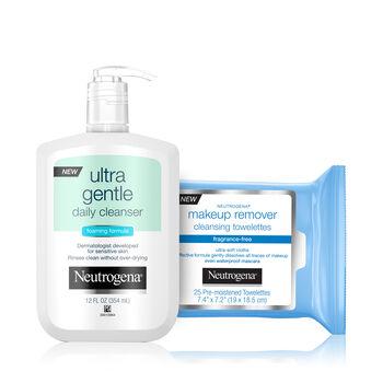 Sensitive Skin Double Cleansing Set