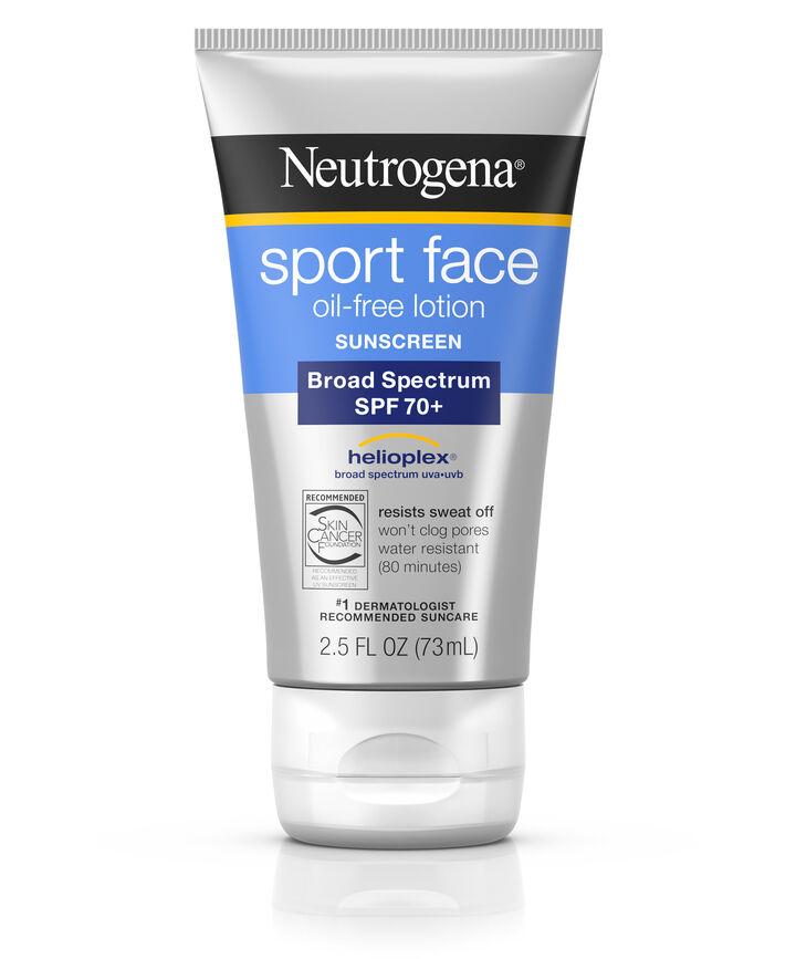 Sport Face Oil Free Facial Sunscreen Lotion Spf 70