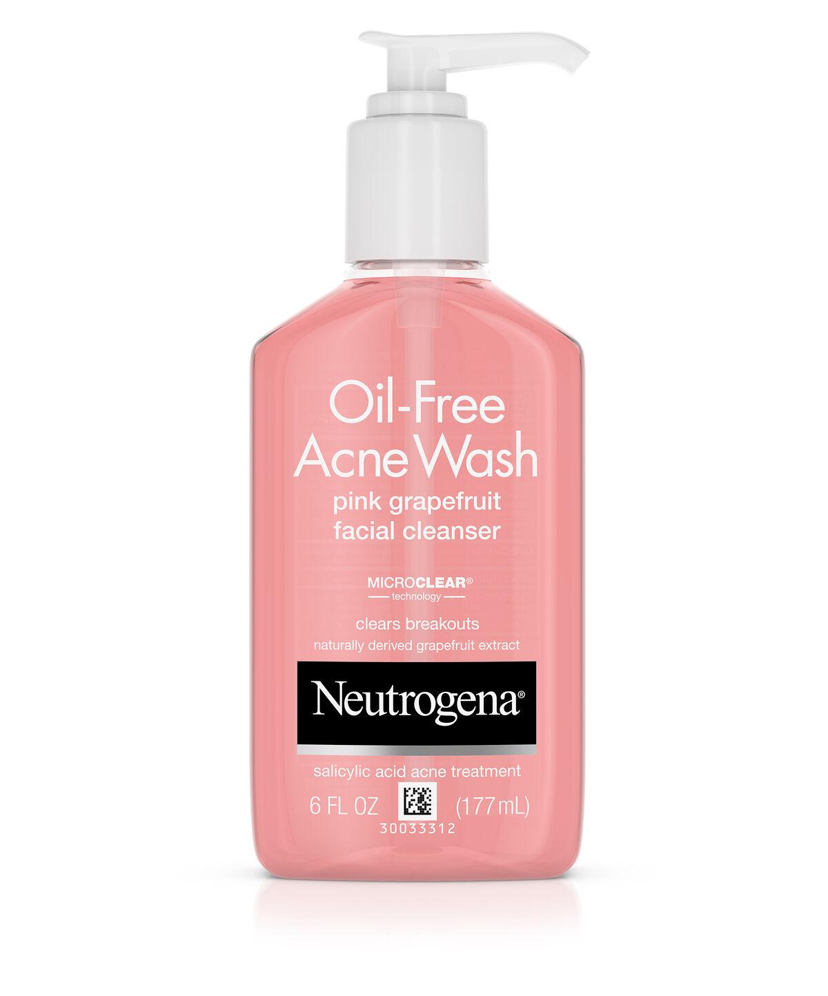 Nutrogena facewash