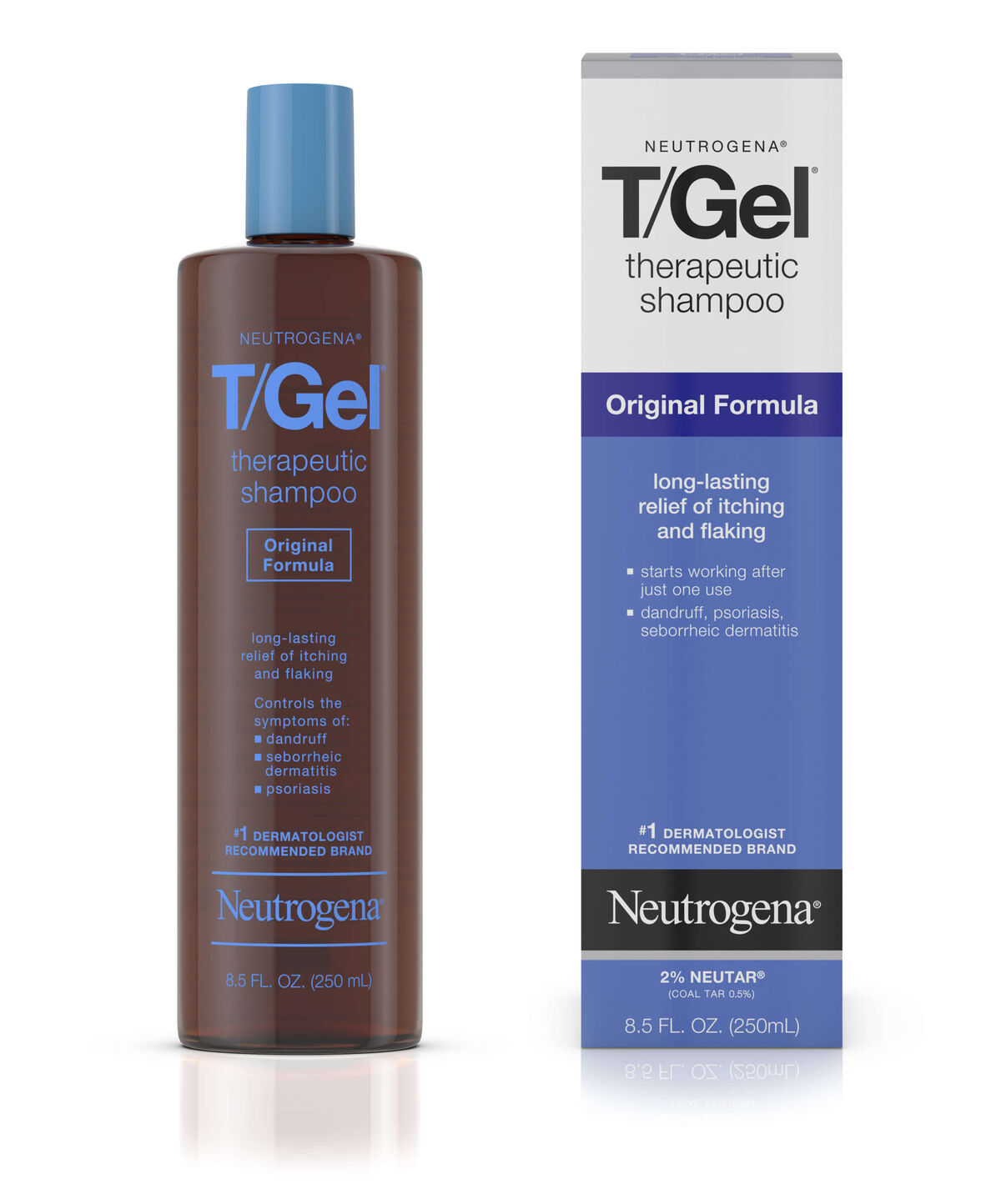 T Gel Reg Therapeutic Shampoo Original Formula