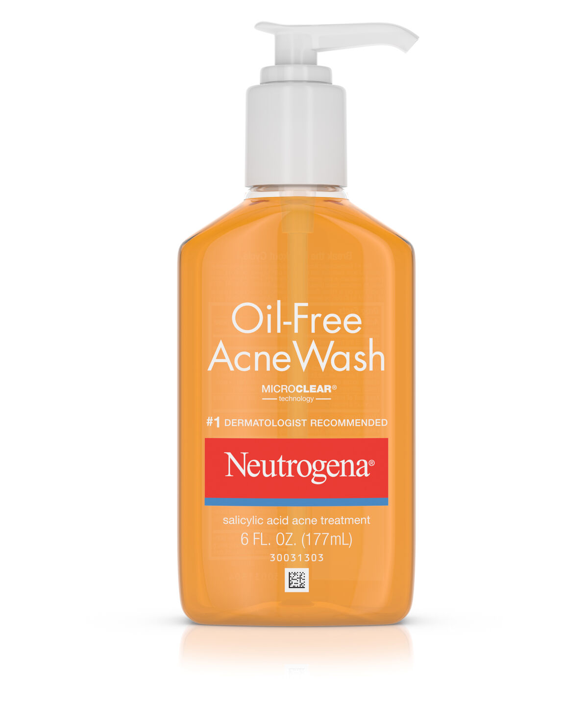 Image result for Neutrogena Oil-Free Acne Wash