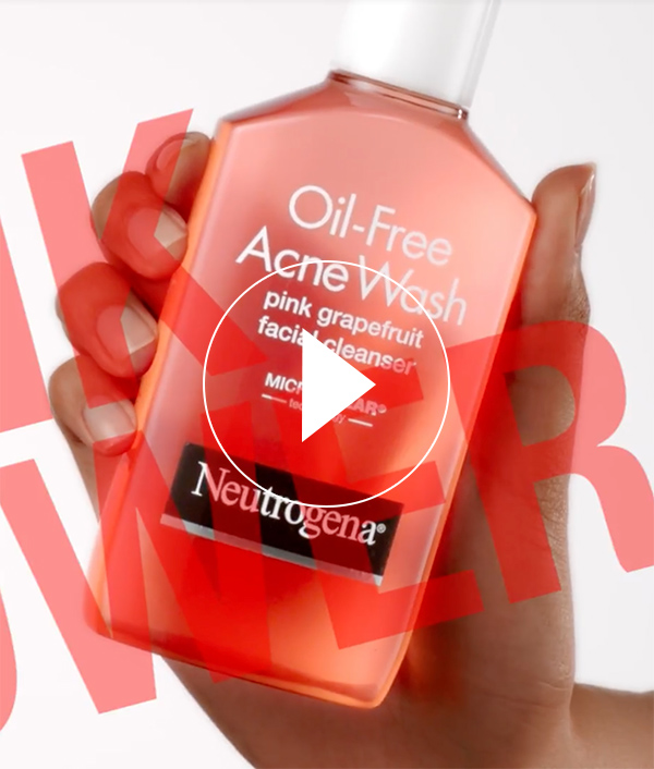 Pink Grapefruit Oil-Free Acne Wash & Facial Cleaner